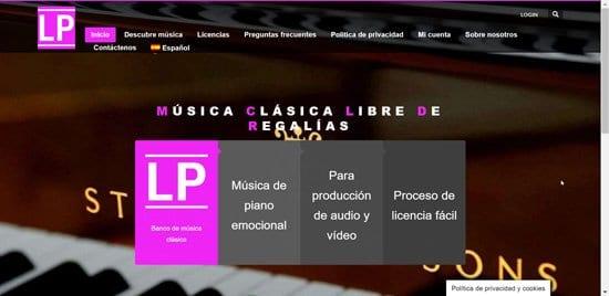 Música gratis para videos en The Last Project