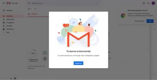 Ingresar a Gmail con cuenta de Google