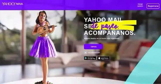 Servicio de correo electrónico de Yahoo