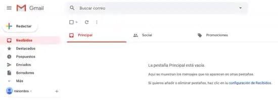Cómo enviar correo electrónico desde Gmail