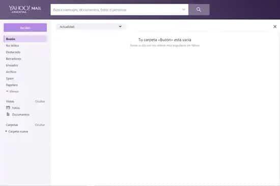 Cómo crear y enviar correo desde Yahoo Mail