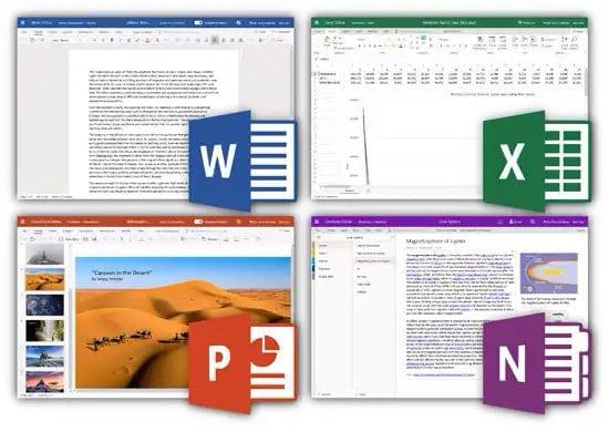 Aplicaciones para abrir archivos de Office