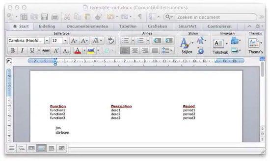 Editar archivo Docx sin Word