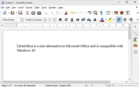 Editar archivo Docx con LibreOffice