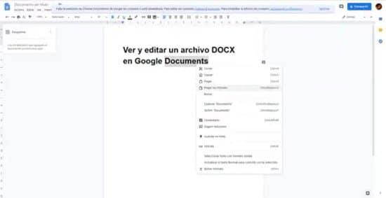 Editar archivo Docx con Google Doc