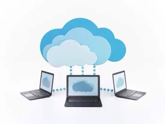 Computadoras conectadas a la nube