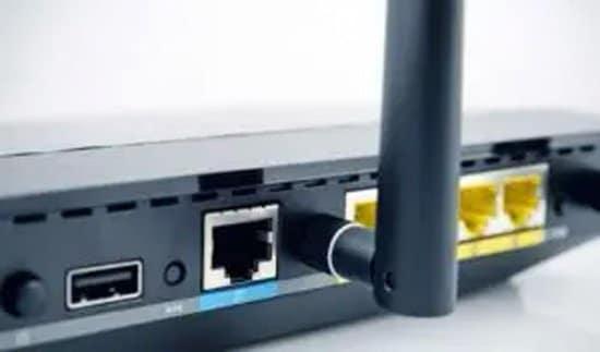 Modem conexión WiFi