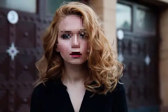 Pixelar el rostro en una foto