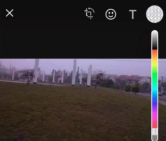 Pixelar una foto en WhatsApp en iOS