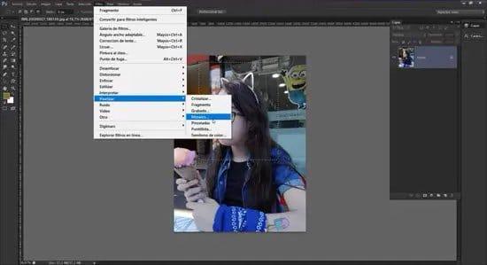 Pixelar una foto con Photoshop