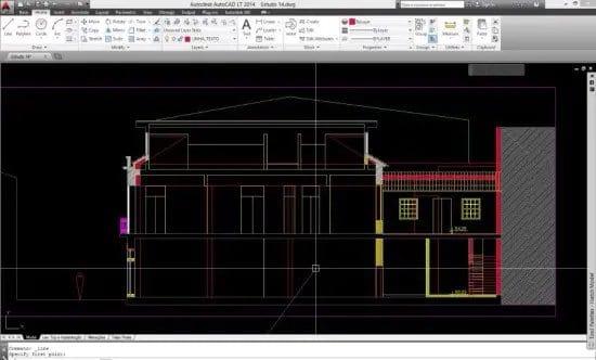 Diseño de vivienda en AutoCad