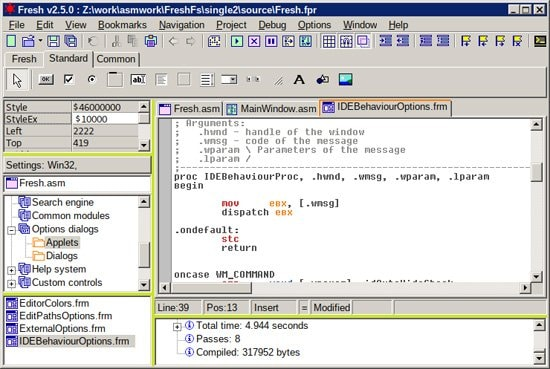 IDE para lenguaje ensamblador gratis