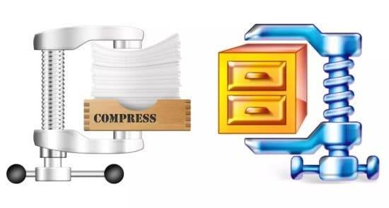 Comprimir archivos con WinZip