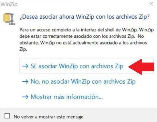 Pasos para instalar WinZip