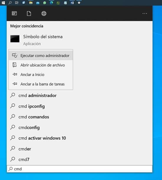 Desactivar el Firewall de Windows desde CMD